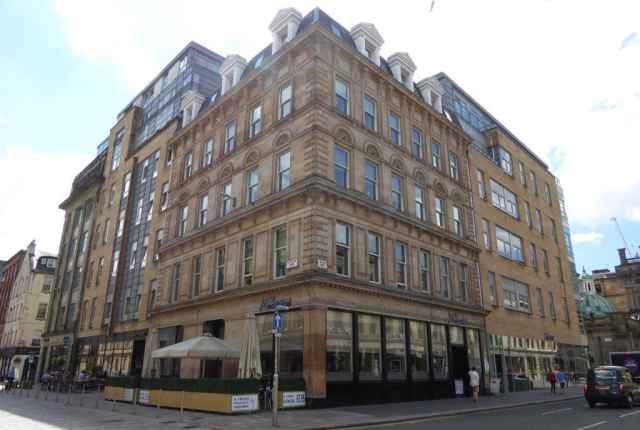Thumbnail Flat to rent in Flat 55 The Palazzo Building, 103 Hutcheson Street, Glasgow, 1Sn