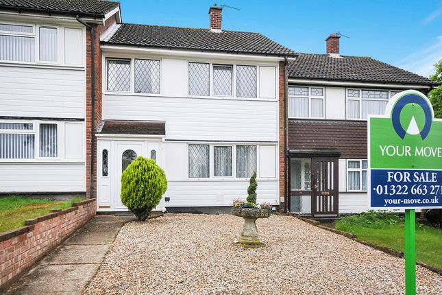 Thumbnail Terraced house for sale in Northview, Swanley