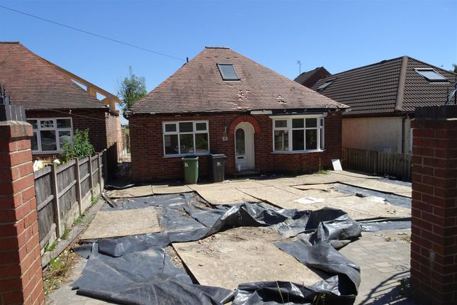 Thumbnail Detached bungalow for sale in Main Road, Smalley, Ilkeston