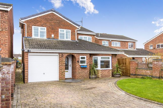 Thumbnail Detached house for sale in Welland Close, Raunds, Wellingborough