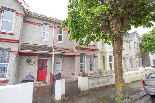 Thumbnail Terraced house for sale in Edith Avenue, St Judes, Plymouth