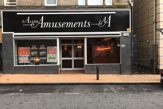 Thumbnail Leisure/hospitality for sale in Mill Street, Alloa