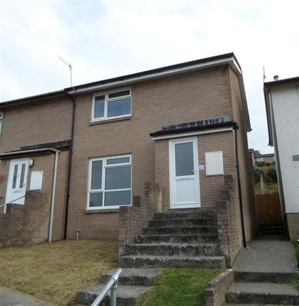 Thumbnail Property to rent in 2 Bed House, Penparcau, Aberystwyth