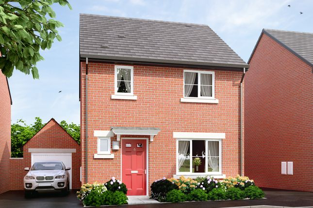 """Thumbnail Semi-detached house for sale in """"The Hawford"""" at Main Road, Kempsey, Worcester"""
