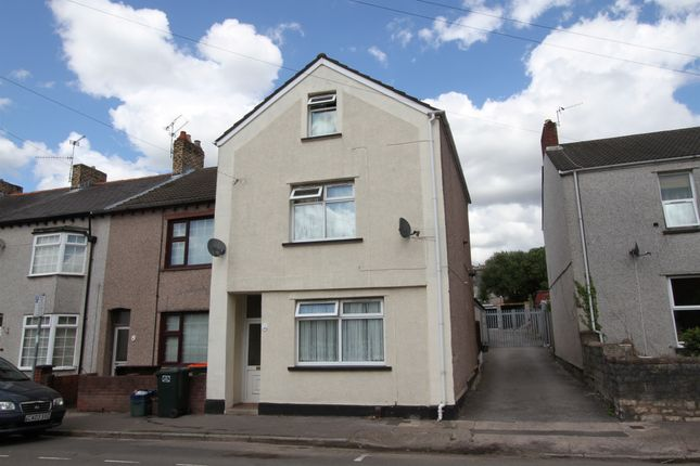 Thumbnail End terrace house for sale in Maindee Parade, Newport