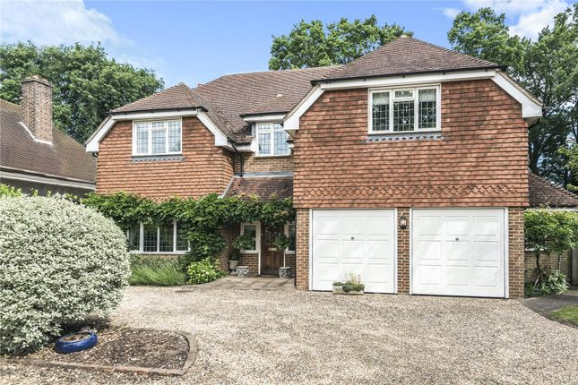 Thumbnail Detached house for sale in Wey Manor Road, Addlestone, New Haw, Surrey