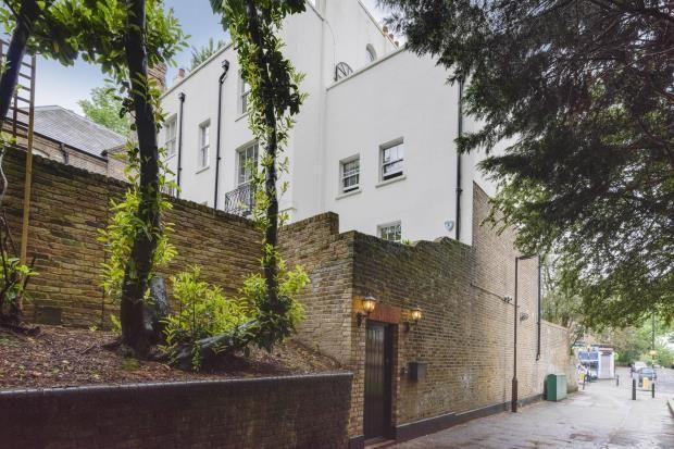 Thumbnail End terrace house for sale in Park House Passage, Highgate Village, London