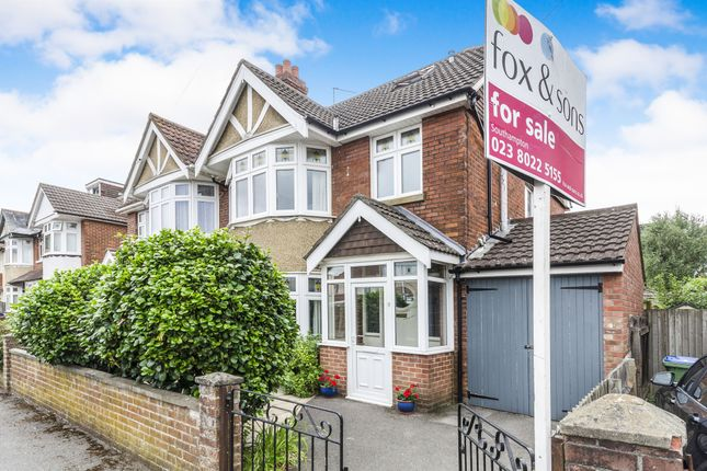 Thumbnail Semi-detached house for sale in Eastbourne Avenue, Upper Shirley, Southampton