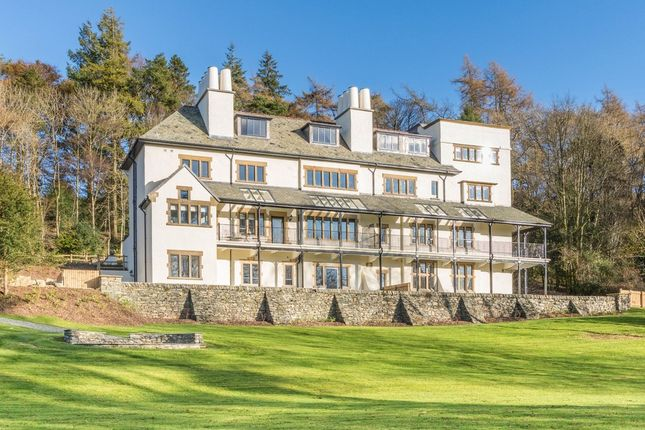 Thumbnail Flat for sale in Apartment 1, Applethwaite Hall, Windermere