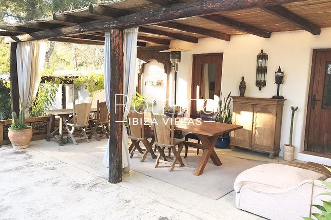 Porch of Santa Gertrudis De Fruitera, Ibiza, Balearic Islands, Spain