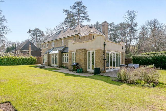 Thumbnail Detached house for sale in Blackdown Avenue, Woking, Surrey