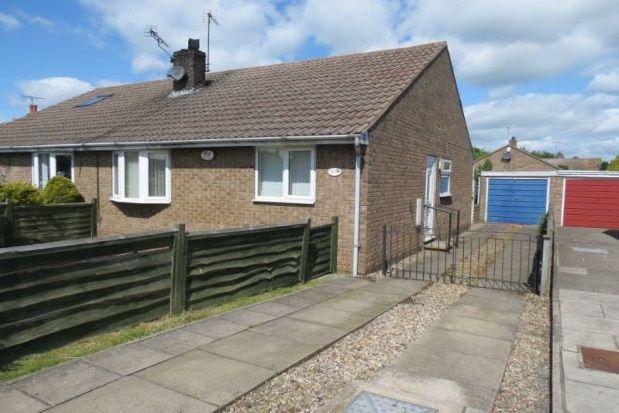 Thumbnail Semi-detached bungalow to rent in Long Meadows, Rillington, Malton