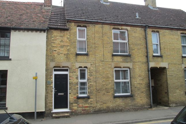 Thumbnail Terraced house to rent in Mill Street, Gamlingay, Bedfordshire