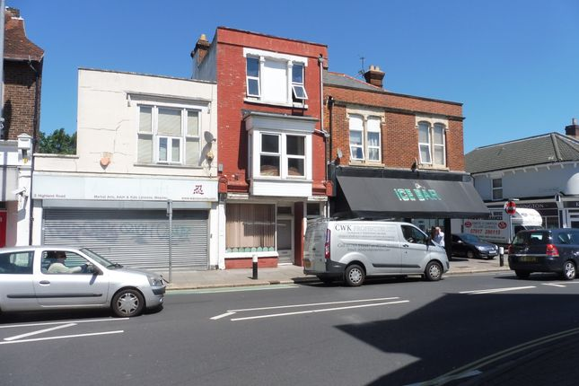 Thumbnail Maisonette to rent in Highland Road, Southsea, Portsmouth, Hampshire