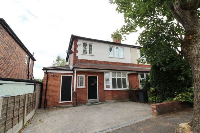 Thumbnail Semi-detached house for sale in Oaklands Road, Swinton, Manchester
