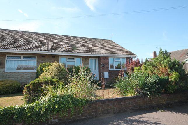 Thumbnail Semi-detached bungalow to rent in Merrifield Road, Lowestoft