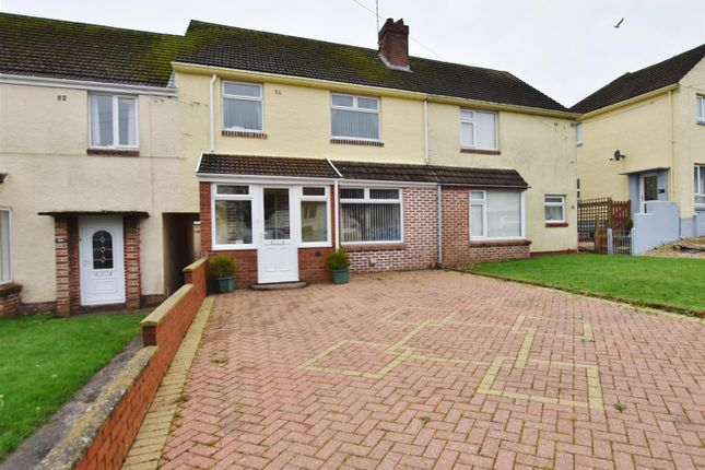 Thumbnail Terraced house for sale in St. Lawrence Avenue, Hakin, Milford Haven