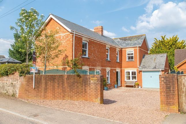 Thumbnail Detached house for sale in Fordton, Crediton