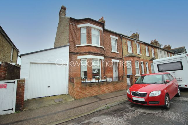 Thumbnail End terrace house for sale in Belmont Road, Westgate-On-Sea