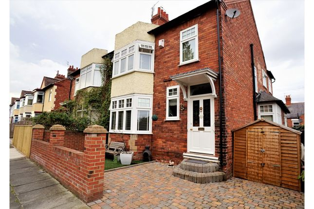 Thumbnail Semi-detached house for sale in Bloomfield Road, Darlington