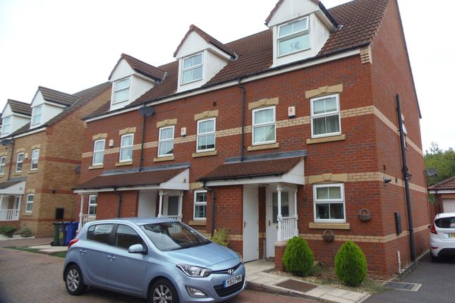 Thumbnail Semi-detached house to rent in Vulcan Mews, Auckley, Doncaster