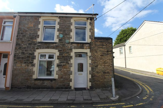 Thumbnail End terrace house for sale in Mount Pleasant Road, Ebbw Vale