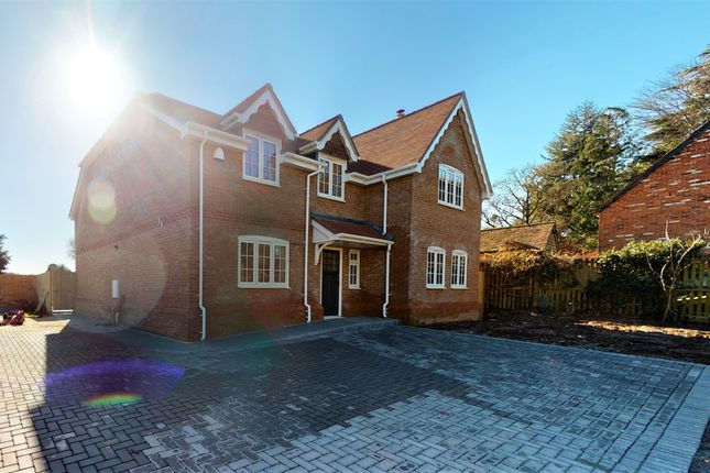 Thumbnail Detached house for sale in Tunworth Road, Mapledurwell, Basingstoke