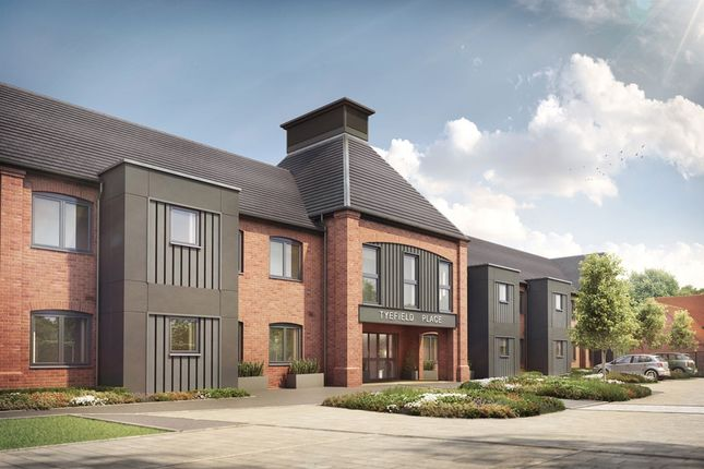 Thumbnail 1 bedroom property for sale in Tyefield Place, Hadleigh, Ipswich
