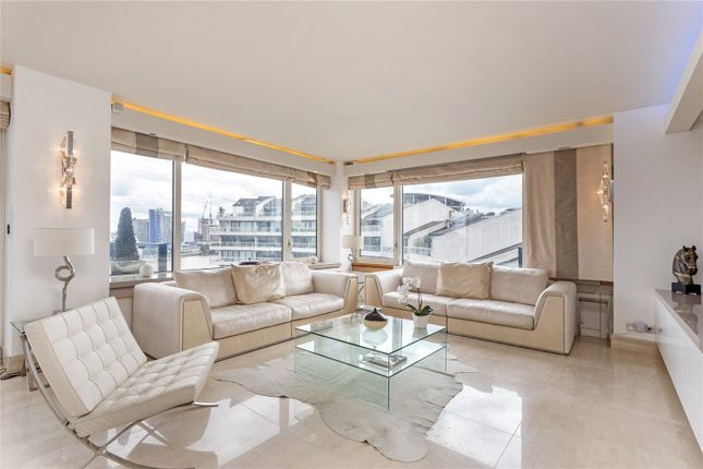 Thumbnail Flat for sale in The Belvedere, Chelsea Harbour, Chelsea, London