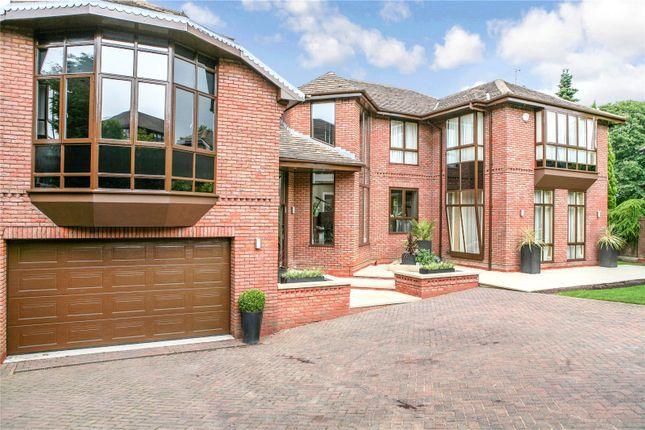 Thumbnail Detached house for sale in Ringley Park, Whitefield, Manchester, Greater Manchester