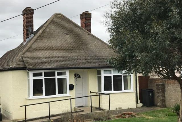 Thumbnail Detached bungalow to rent in Vicarage Lane, North Weald, Epping