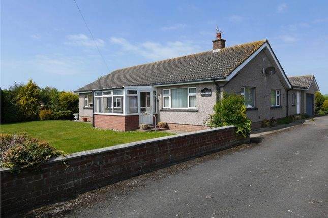 Thumbnail Detached bungalow for sale in Old Shore Road, Drigg, Holmrook, Cumbria