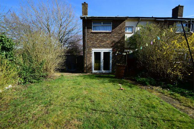 Thumbnail End terrace house for sale in Shephall Way, Shephall, Stevenage, Hertfordshire