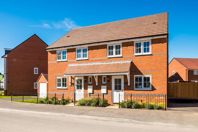 "Thumbnail Semi-detached house for sale in ""Barwick"" at Saxon Court, Bicton Heath, Shrewsbury"