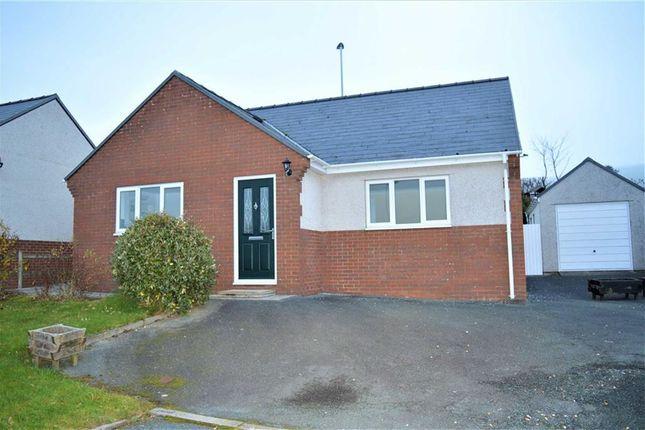 Thumbnail Bungalow to rent in 6, Maes Y Dderwen, Llanbrynmair, Powys