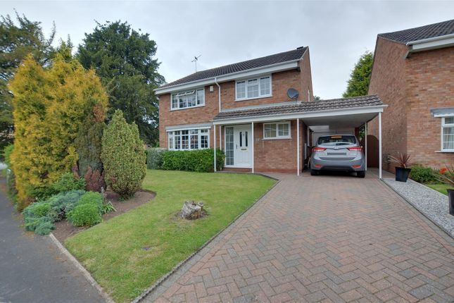 Thumbnail Detached house for sale in Broad Oaks, Stafford