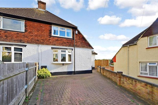 Thumbnail Semi-detached house for sale in Hill Rise, Dartford, Kent