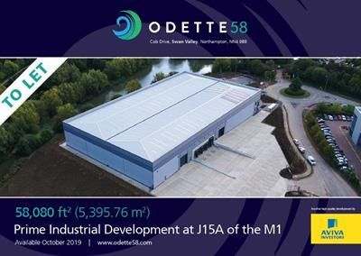Thumbnail Land to let in Odette 58, Cob Drive, Swan Valley, Northampton, Northamptonshire