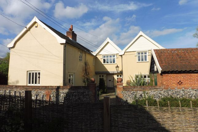 Thumbnail Detached house for sale in Redgrave Road, South Lopham, Diss