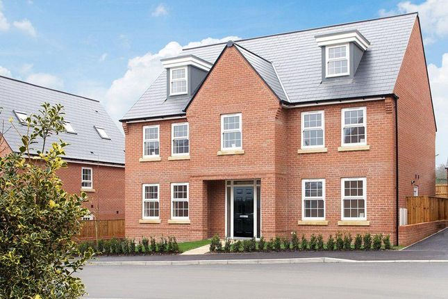 "Thumbnail Detached house for sale in ""Lichfield"" at Fen Street, Brooklands, Milton Keynes"