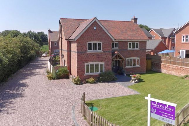 Thumbnail Detached house for sale in Chester Road, Nomans Heath, Cheshire