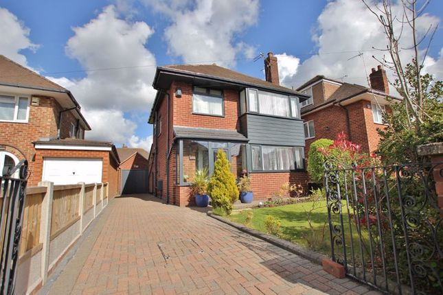 Thumbnail Detached house for sale in Leaway, Greasby, Wirral
