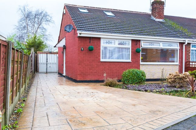 Thumbnail Semi-detached bungalow for sale in Ruby Street, Denton, Manchester