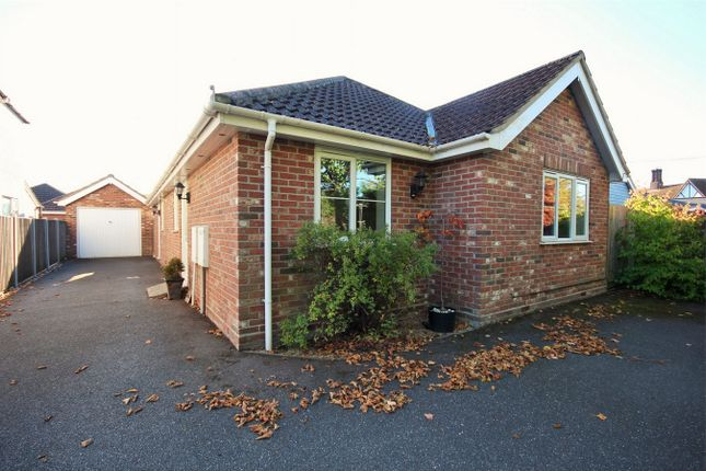 Thumbnail Detached bungalow for sale in Berechurch Hall Road, Colchester, Essex