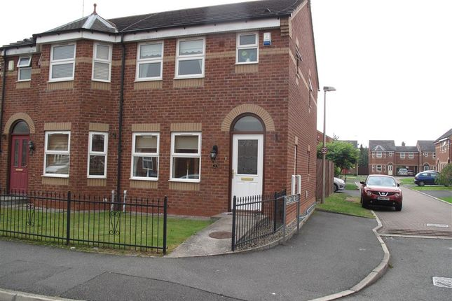 Thumbnail Semi-detached house to rent in Barker Street, Crewe