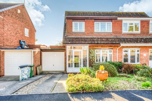 Thumbnail Semi-detached house for sale in Pebworth Close, Church Hill North, Redditch