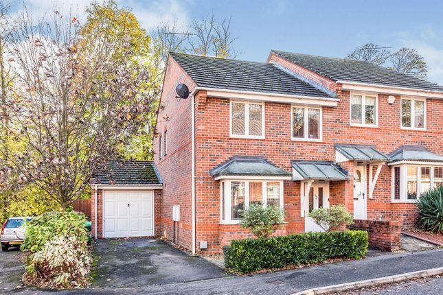 Thumbnail Semi-detached house for sale in Basingfield Close, Old Basing, Basingstoke