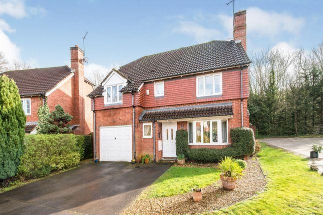 Thumbnail Detached house for sale in Clere Gardens, Chineham, Basingstoke