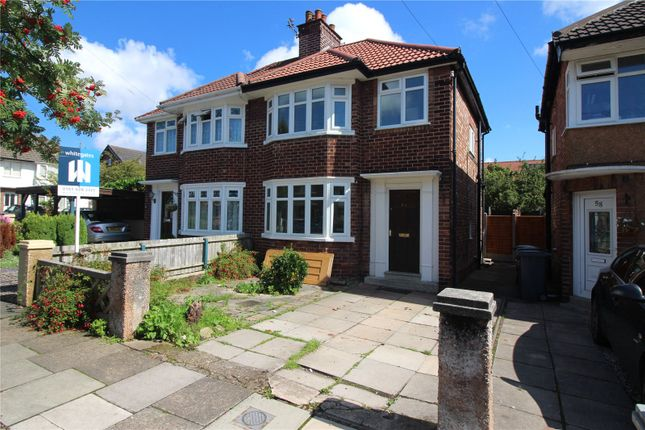 Thumbnail Semi-detached house to rent in Rosefield Avenue, Wirral, Merseyside