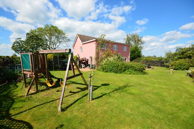 Thumbnail Detached house for sale in New Delight Road, Rickinghall, Diss